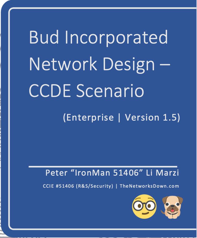 CCDE Scenario 1 Cover